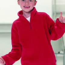 Childrens 1/4 Outdoor Fleece
