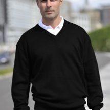 RTY V Neck Acrylic Sweater