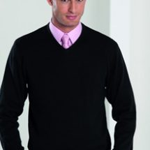 V Neck Knitted Pullover