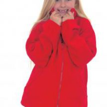 Childrens Full Zip Fleece Jacket