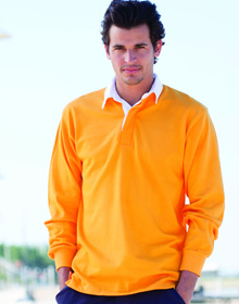 FRONT ROW Long Sleeve Original Rugby Shirt