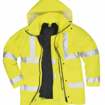 Hi Vis 4 in 1 Traffic Jacket