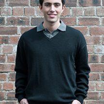 RTY V Neck Acrylic Wool Sweater
