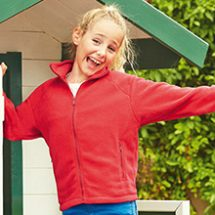 FRUIT OF THE LOOM Kids Outdoor Fleece